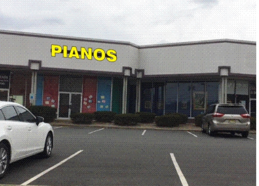 Piano Store Front in Edison, NJ