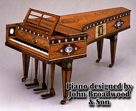Broadwood and Son Piano